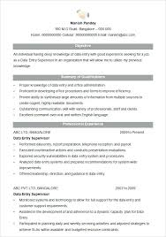 supervisor resume templates supervisor resume template marvelous how to do a resume with data