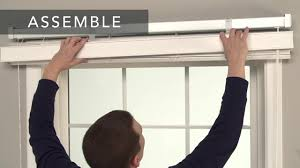 how to install bali fabric horizontal blinds outside mount