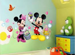 aliexpresscom buy mickey mouse minnie vinyl mural wall sticker