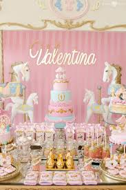 birthday party ideas kara s party ideas enchanted carousel birthday party kara s