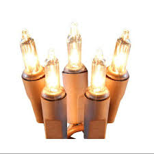Battery Picture Light Set Of 20 Battery Operated Clear Mini Christmas Lights Brown
