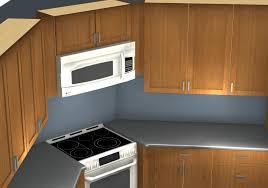 Ikea Kitchen Corner Cabinet Common Kitchen Design Mistakes Corner Stove And Microwave Alignment
