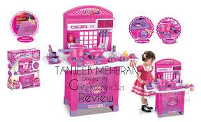 Kitchen Set Toys For Girls Girls U0027 Kitchen Set Review Youtube