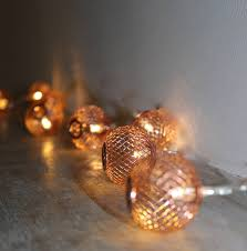 Fairy Lights For Bedroom - copper mesh fairy lights by the forest u0026 co notonthehighstreet com