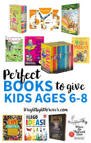 gift guide the best book gifts for 6 8 year olds bright light mama