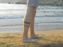 Simple Calf - 26 simple calf tattoos