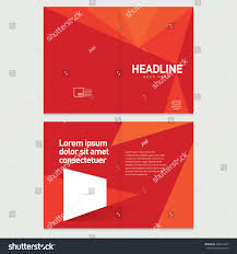 brochure cover inner pages design template stock vector 396632461