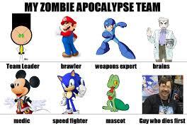 An Hero Meme - zombie apocalypse team meme by hero t on deviantart