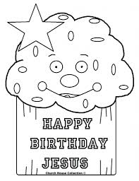 happy birthday jesus cupcake coloring page mewarnai happy
