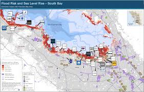 Sea Airport Map Sea Level Rise Who Should Take Responsibility In Silicon Valley