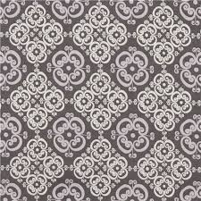 grey robert kaufman grey ornament pattern design ornament