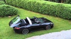 porsche targa green porsche 911 991 targa 4s roof in action grzegorz ciźla o
