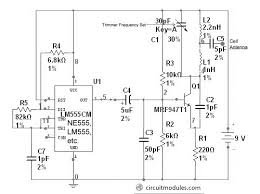 control jammer circuit module circuit diagram and layout modules