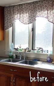 ideas for kitchen window curtains awesome curtains for kitchen window above sink mega shoppingcenter