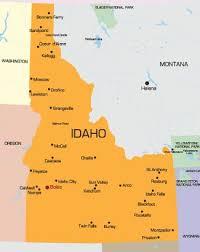 map of idaho cities 65 best lewiston id images on idaho bridges and nature