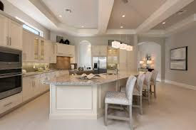 french inspired kitchen cipriani model home at quail west by