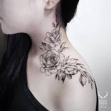 best 25 neck tattoos for women ideas on pinterest tatoo