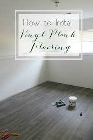 one room challenge week three how to install vinyl plank