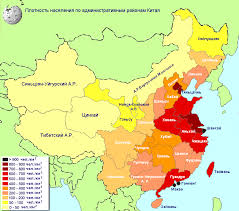 russia map by population population density of china by level administrative regions