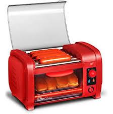 Toaster Machine Amazon Com Nostalgia Hdt600retrored Retro Series Pop Up Dog