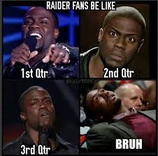Broncos Raiders Meme - 59 best raiders suck images on pinterest raiders cowboys and