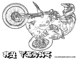 ktm motorbike colouring pages gekimoe u2022 71024