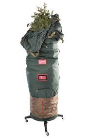 artificial tree storage bag and stand in tree storage