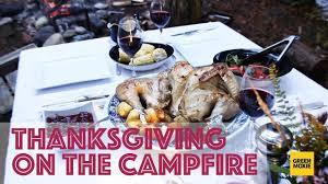 thanksgiving dinner on the cfire