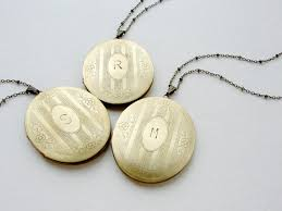 monogram locket necklace personalized jewelry initial necklace bridesmaid jewelry