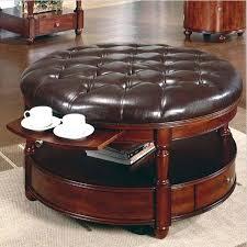 leather ottoman rectangular rectangle ottoman with shelf
