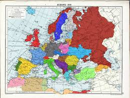 Ww1 Map A Coloured Map Of Post Ww1 Europe 1996 X 1506 Mapporn