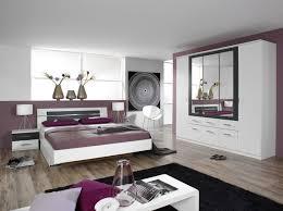 chambre adulte armoire adulte contemporaine 5 portes 6 tiroirs coloris blanc gris