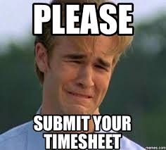 Timecard Meme - list of synonyms and antonyms of the word submit meme
