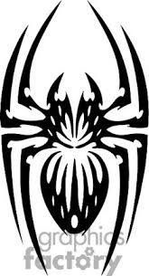 tribal spider tattoo design stars pinterest spider tattoo