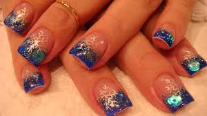 artificial nails design acrylic nail design how to glitter dip