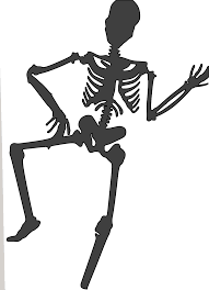 halloween dance clip art pictures of halloween skeletons cliparts co