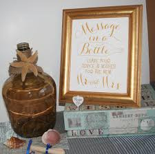 wedding wishes and advice wedding signs message in a bottle leave your advice and wishes