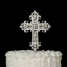 photo cake topper cross cake topper communion religious baptism christening