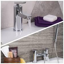 basin mixer and bath shower mixer tap pack serene basin mixer and bath shower mixer tap pack