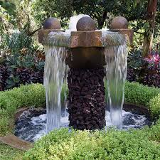 small outdoor waterfall fountain best waterfall 2017