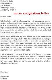 nursing resignation letter nursery nurse resignation letter 9