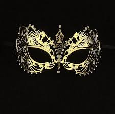 tigress gold masquerade mask vivo masks
