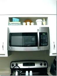 how to install over the range microwave without a cabinet above stove microwave cabinet microwave above stove over stove