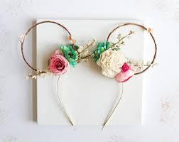 floral headband floral headband etsy