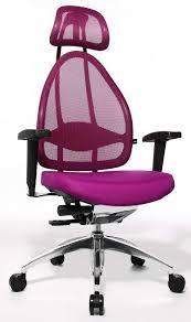 chaise de bureau violette fauteuil de bureau pour le confort du dos fauteuil pour le dos