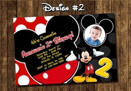 mickey mouse birthday invitations mickey mouse birthday party baby 1st clubhouse black