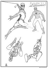 43 spiderman coloring pages images coloring