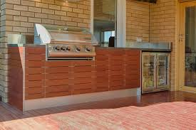 outdoor kitchen timber caeserstone stainless watsonia melbourne