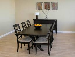 Black Wood Dining Table Black Wooden Dining Table And Chairs Black Wood Dining