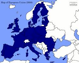 Europe Map Blank by Map Of European Union 2008 Youreuropemap Com
